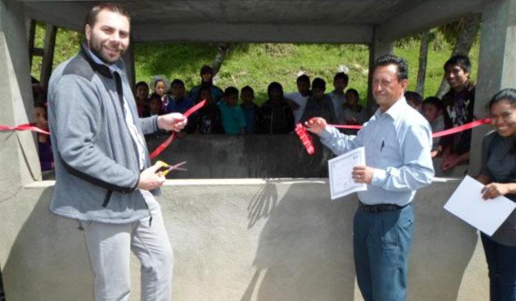 Progetto pozzo artesiano Hermana Tierra Onlus in Guatemala