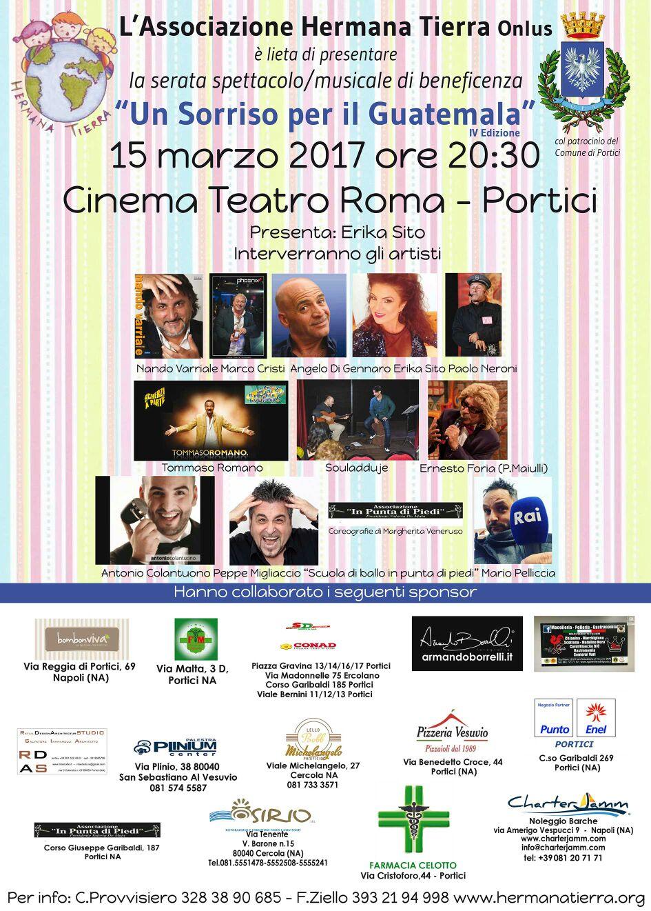 locandina spettacolo 2017 03 15